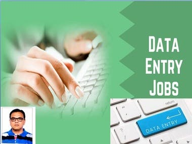 Excel Data Entry Typing & copy paste