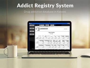 Addict Registry System