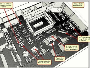 The Challenge: To develop an 8000 sq.ft. restaurant