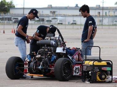 Race car tipe F1