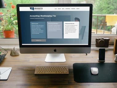 Website for a Chartered Professional Accountant