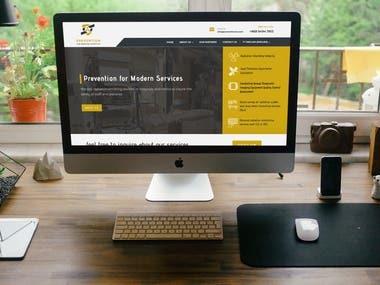 Website for Prevention for Modern Services