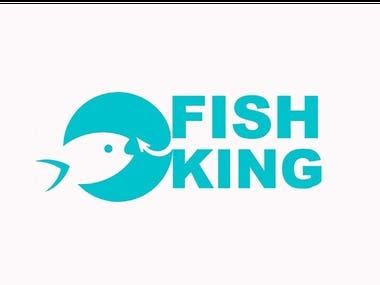 Fishking Logo Design