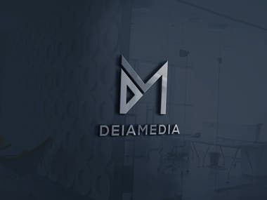 DeiaMedia Logo Design