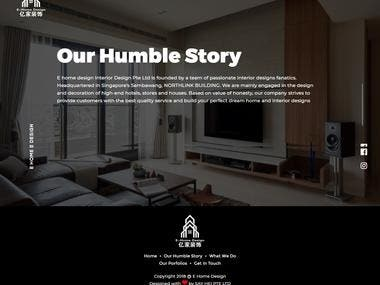 Furniture and home decor website(Codeigniter)