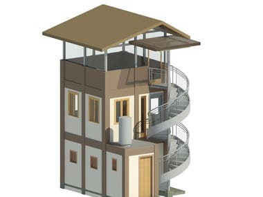 3-Storey Guard House