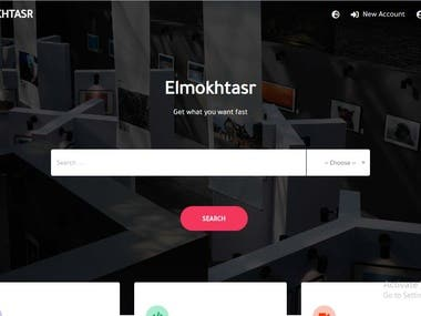 Making a full website (front-end + back-end)