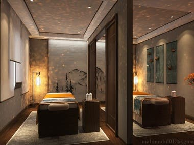 Spa (Body Massage Center ) Design