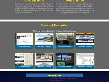 Responsive Business website Design