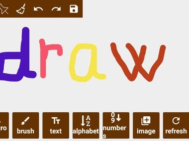 Drawing and Coloring game android