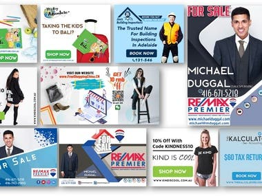 Brand Ad & Promotional Designs