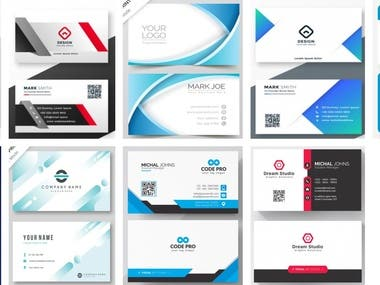 Branded Business Card Design