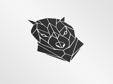 Tasmanian-Devil (Geometrical Logo )