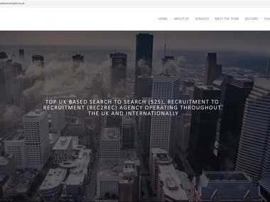 JeremyCole Recruitment Website