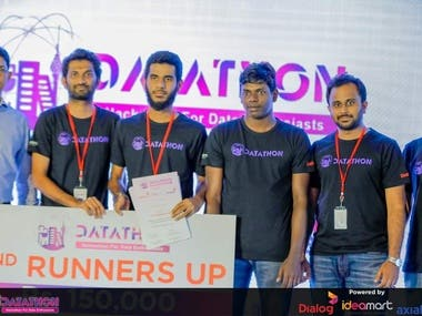 2nd Runners Up in Dialog Datathon2019