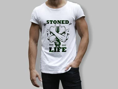 Stoners/Smokers T-shirts Design Bundle.