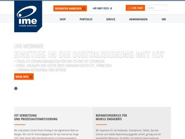 IME Mobile Solution