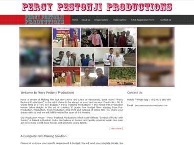 Percy Pestonji Productions