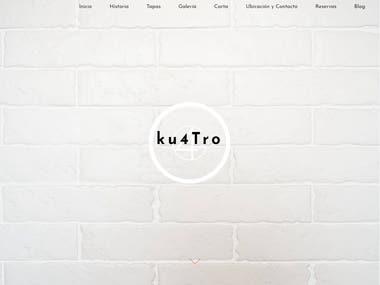 Página web Gastroku4tro.com