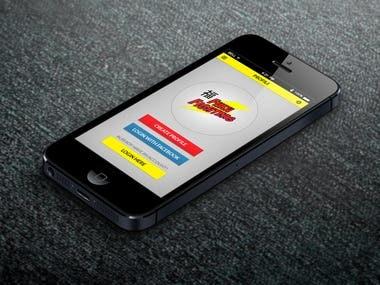 mobile app UI/UX