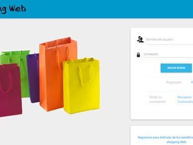 shopping web