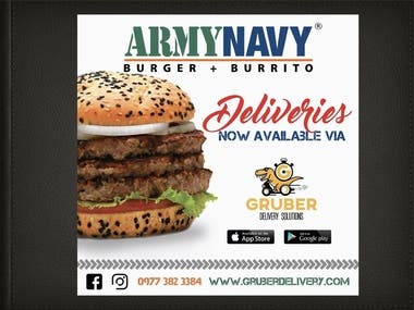 ARMY NAVY TIE UP DELIVERIES