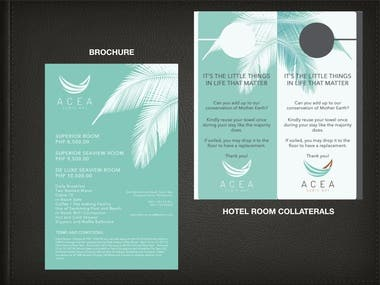 BROCHURE | ROOM COLLATERALS