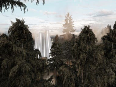 National Flora and Fauna Reserve - CGI RENDER