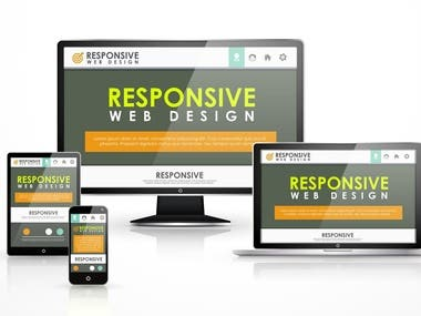 Responsive and Mobile friendly Design [Front-End]