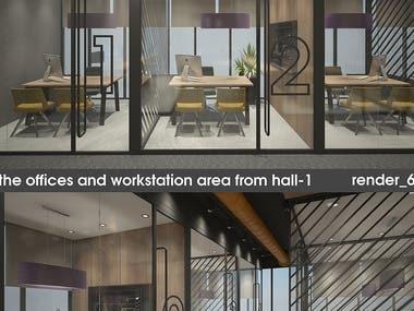 Freelancer Contest Winner: Office Interior Design