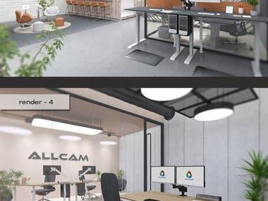 Freelancer Contest Winner: Office Scenes