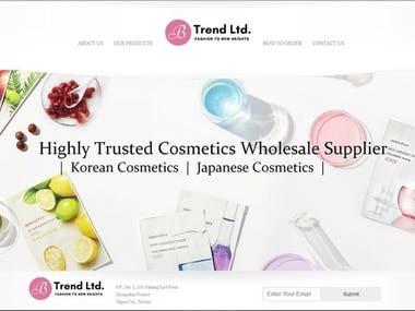 B Trend Company website