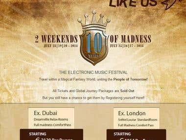 Revel Music, Dubai