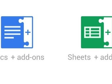 Google Sheet add-ons