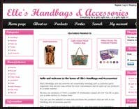 E-Commerce site - www.elleshandbags.com