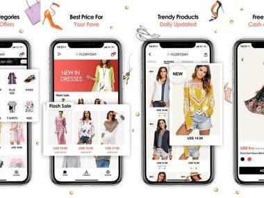 Shopping & Fashion (Ionic Framework)
