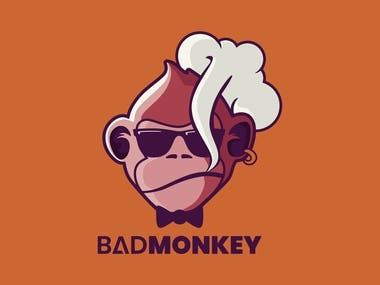 BADMONKEY Illustration