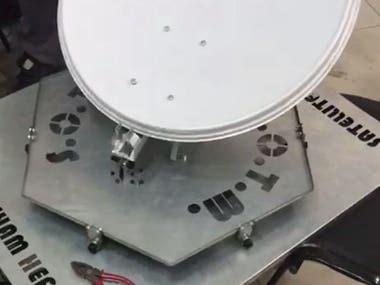 2DOF moving dish