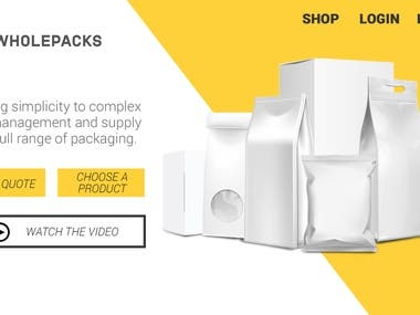 wholesome packages web banner