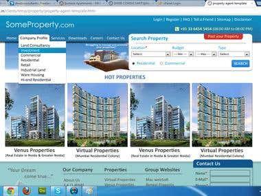 Real Estate - Agent - Website
