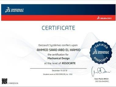 Certified SolidWorks Associate