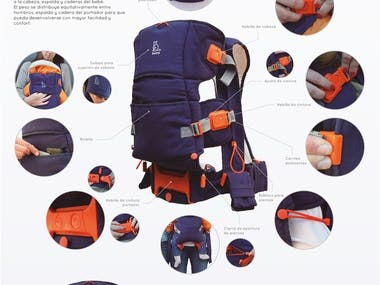Baby carrier for University Project.