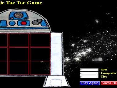 Tic Tac Toe Game in Java Script