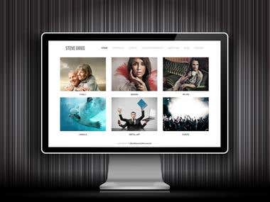 Steve Giggs Photographer - Web design