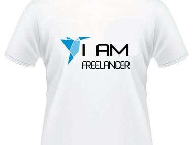 T Shirt I AM Freelancer