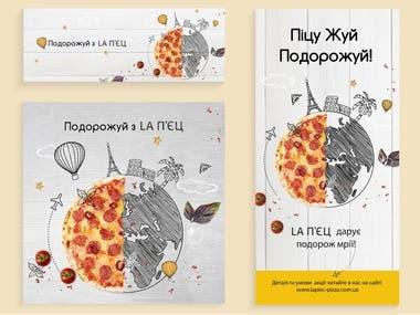 pizzeria advertising design