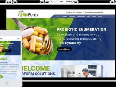 Bioformsolutions.com Scientfic Research Website