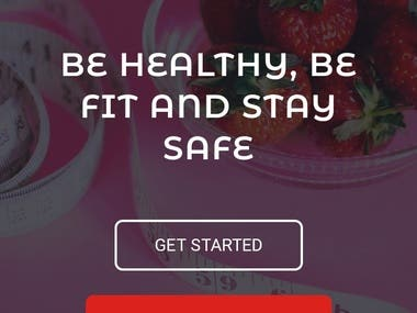 FOODS&FITNESS WEBSITE