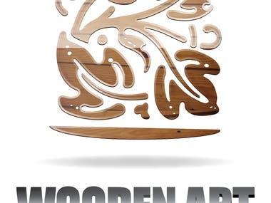 Wooden Art carpenter house