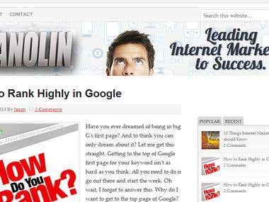 Vanolin - Leading internet marketers to success